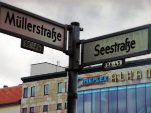 Die Ecke schlechthin, mit dem Kino Alhambra, Müllerstraße Ecke Seestraße