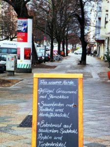 Gute Küche in der Torfstraße/Ecke Nordufer
