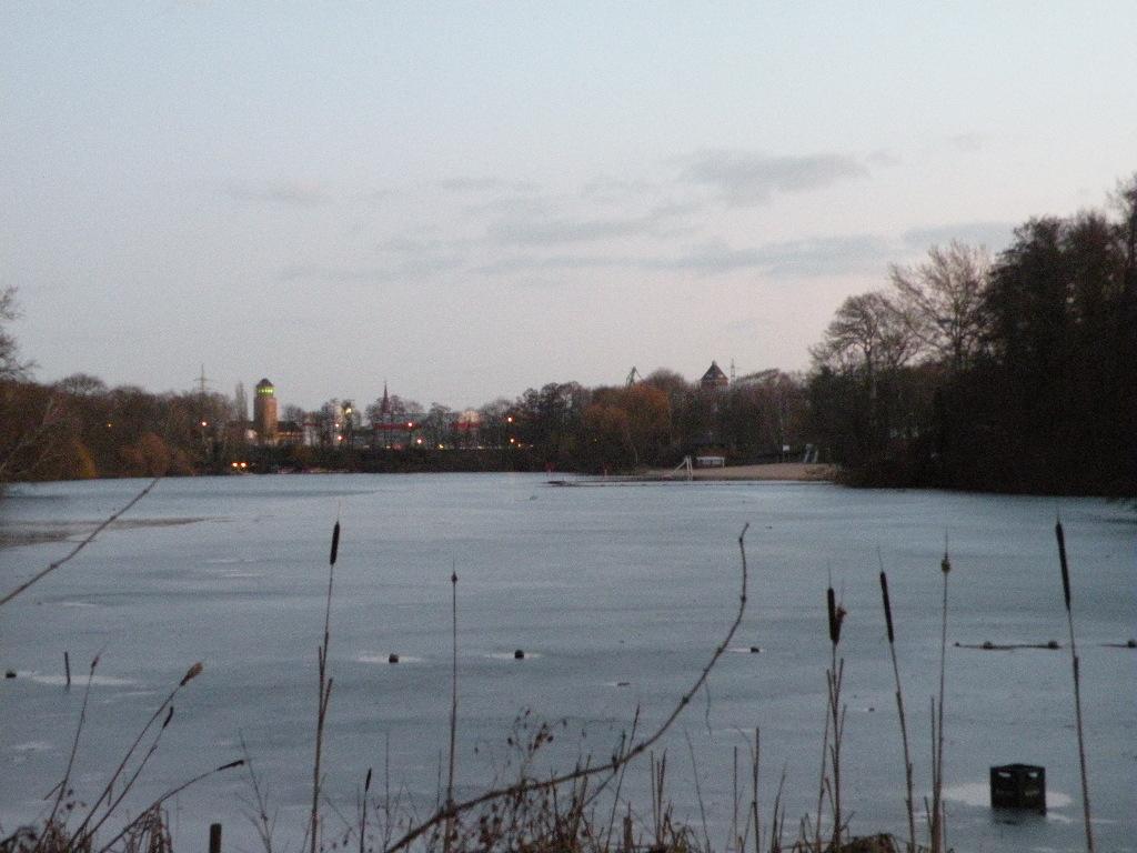 Der Plötzensee mitten in Berlin