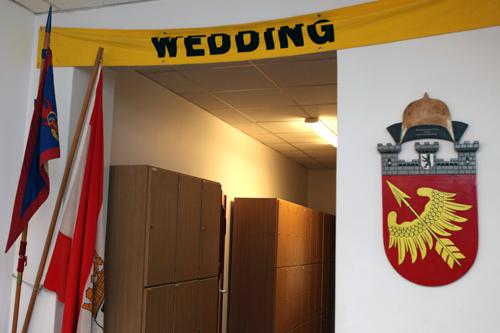 Gemeinschaftsräume für die Feuerwehrleute Wedding