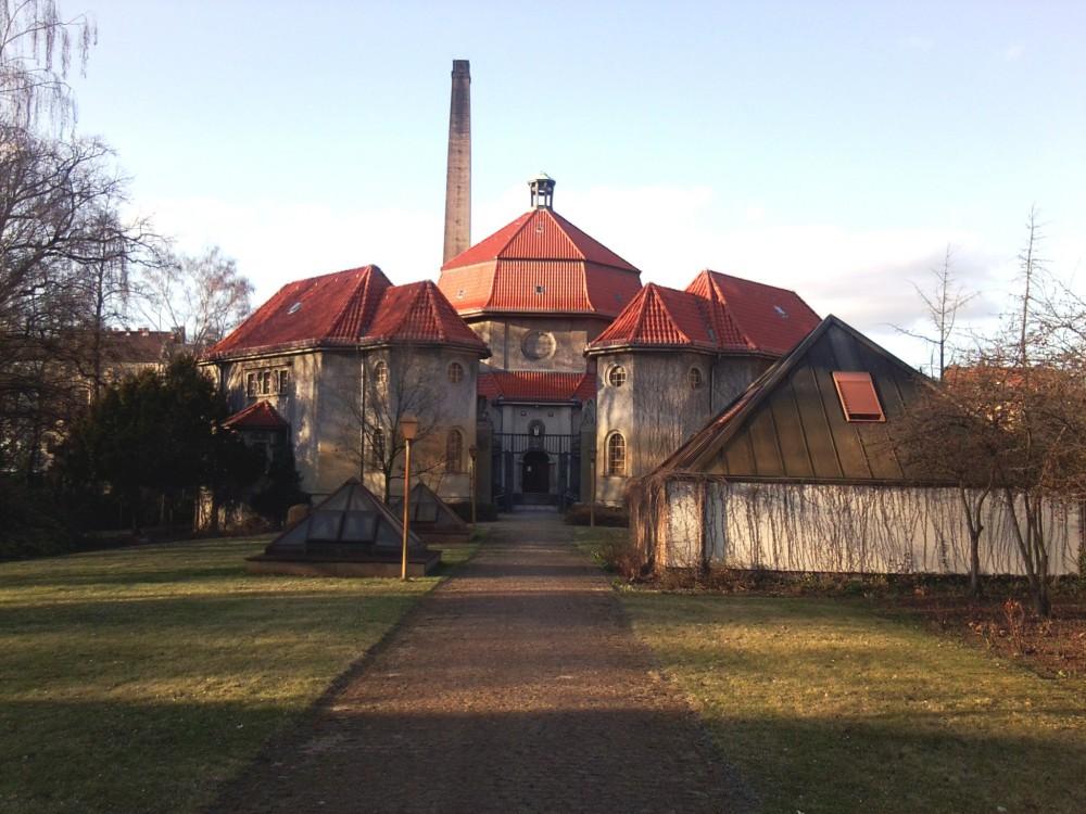 Das Krematorium Gerichtstraße