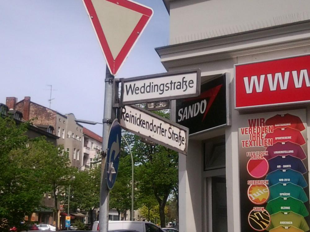 Ecke Weddingstraße Reinickendorfer Straße