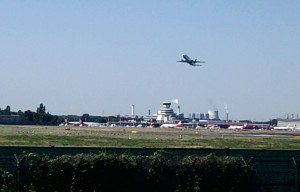 Flughafengebäude in Tegel