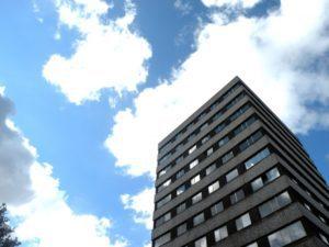 Turm des Erweiterungsbaus