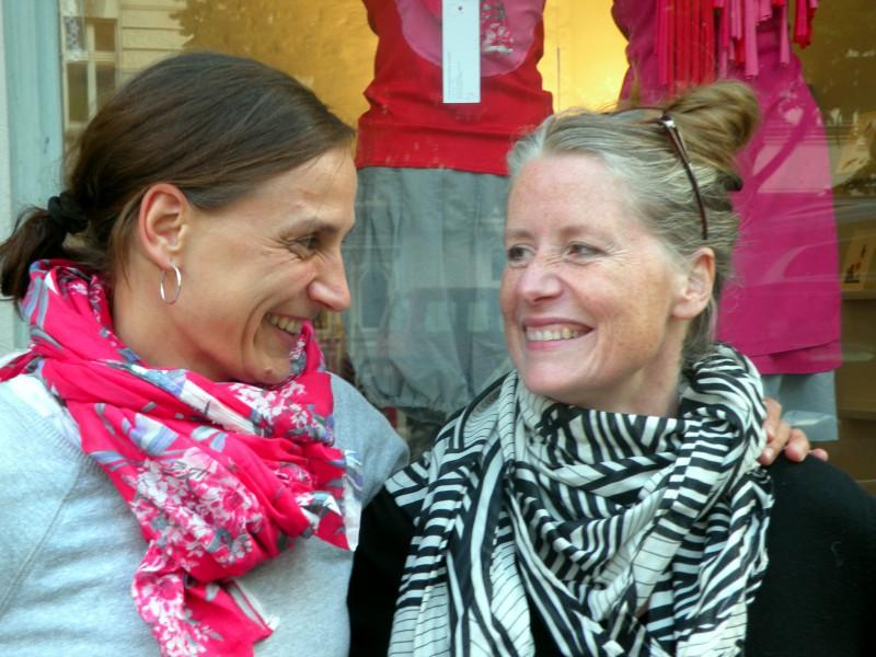 Annette Haußknecht (links) und Suse Stock