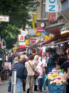 In der Müllerstraße. Foto: Joachim Faust