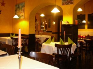 "Im Restaurant ""L'escargot"". Foto: M.Martino"