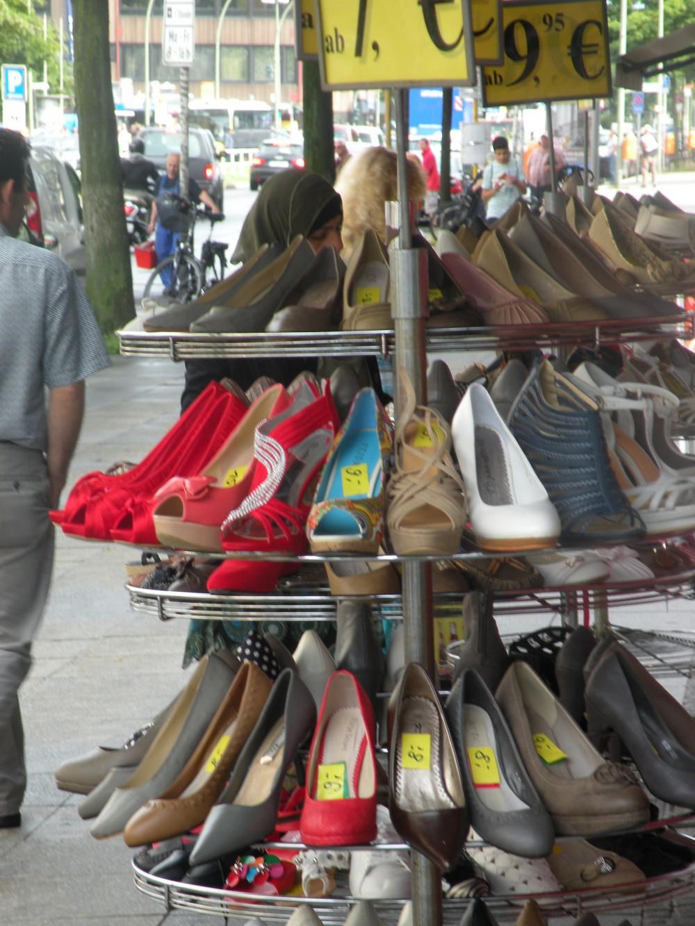 Schuhgeschäft an der Müllerstraße