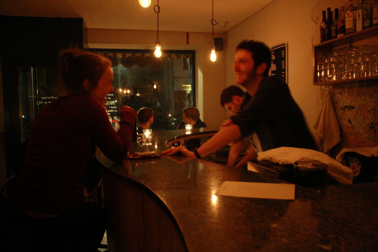 Moritz Bar Tresen