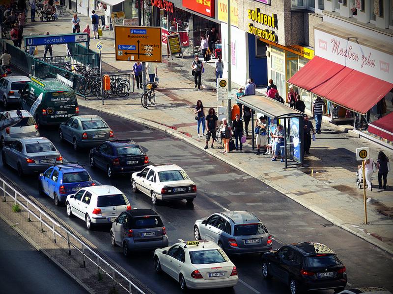 Die Müllerstraße heute (Foto: D_Kori)