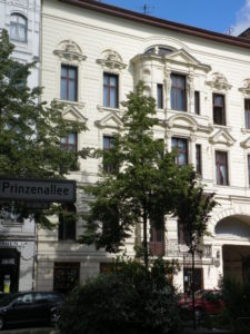 Vorderhaus der Prinzenallee 58