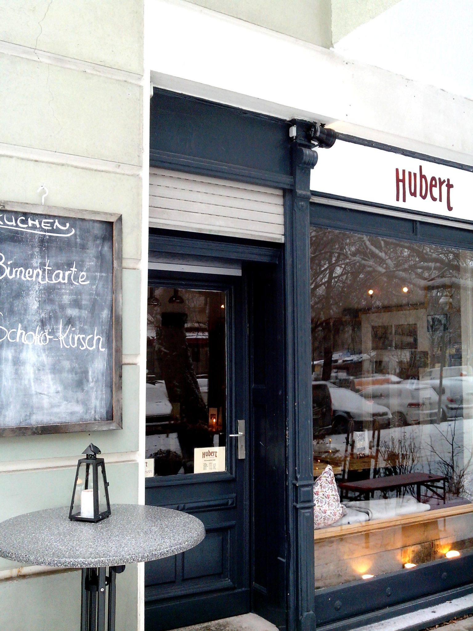 Café Hubert in der Tegeler Str.