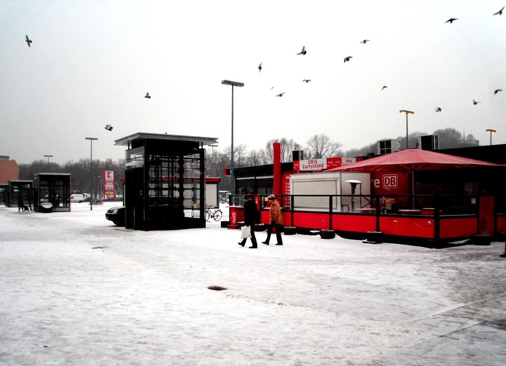 Große Leere: der Bahnhof Gesundbrunnen
