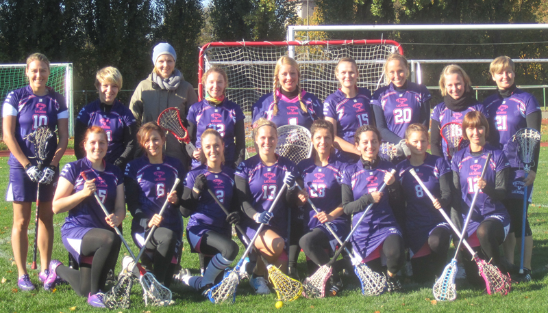 Damenmannschaft Victoria Lacrosse