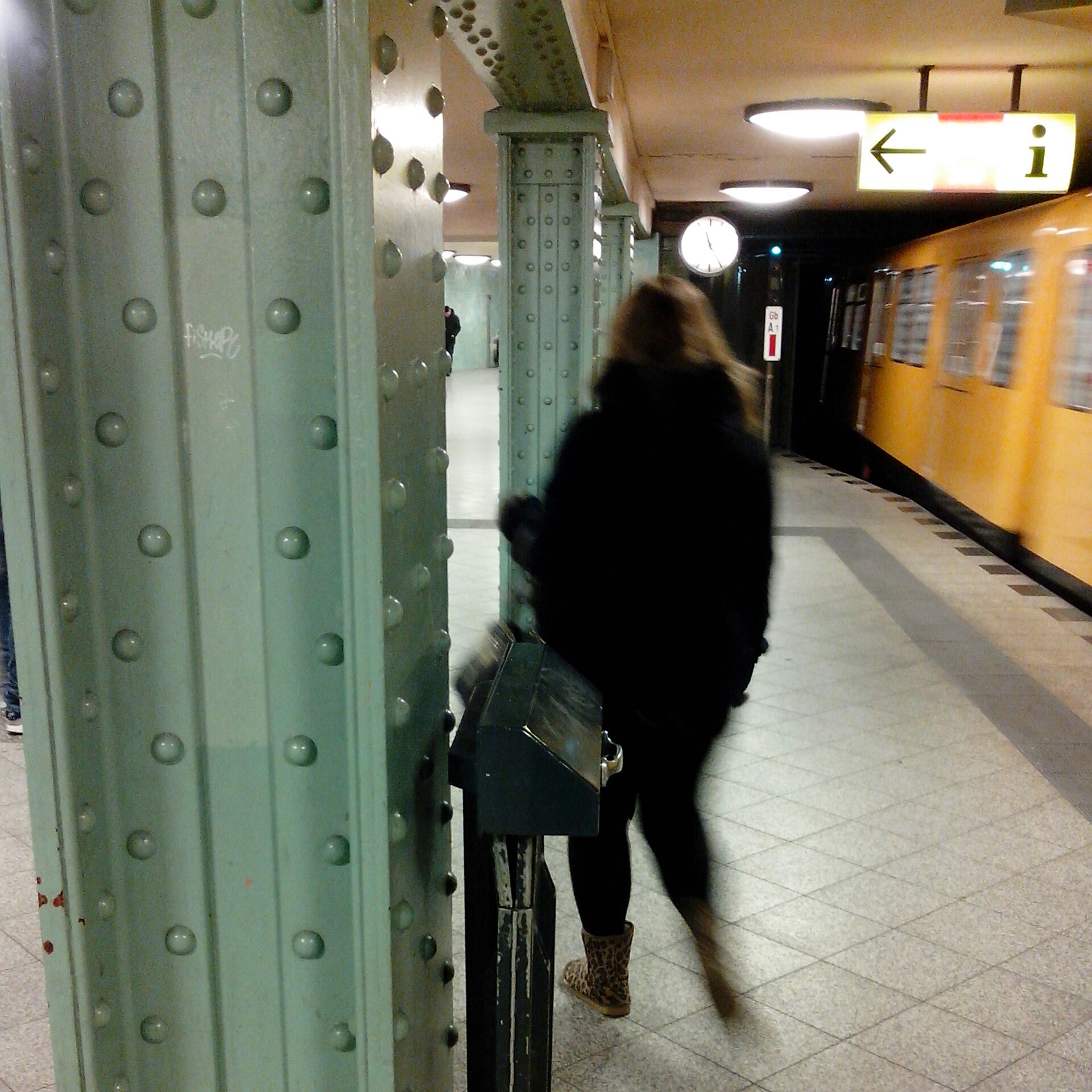 U Bhf Gesundbrunnen Bahnsteig