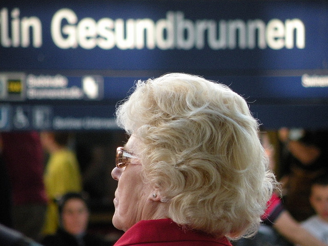 Bahnhof Gesundbrunnen.