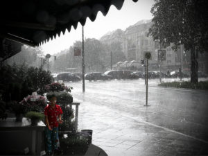 Regen Gewitter