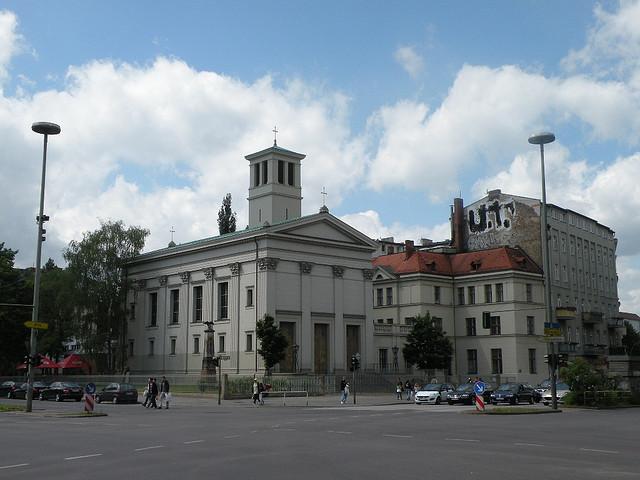 Schinkels Kirche: Bad-/Ecke Pankstraße