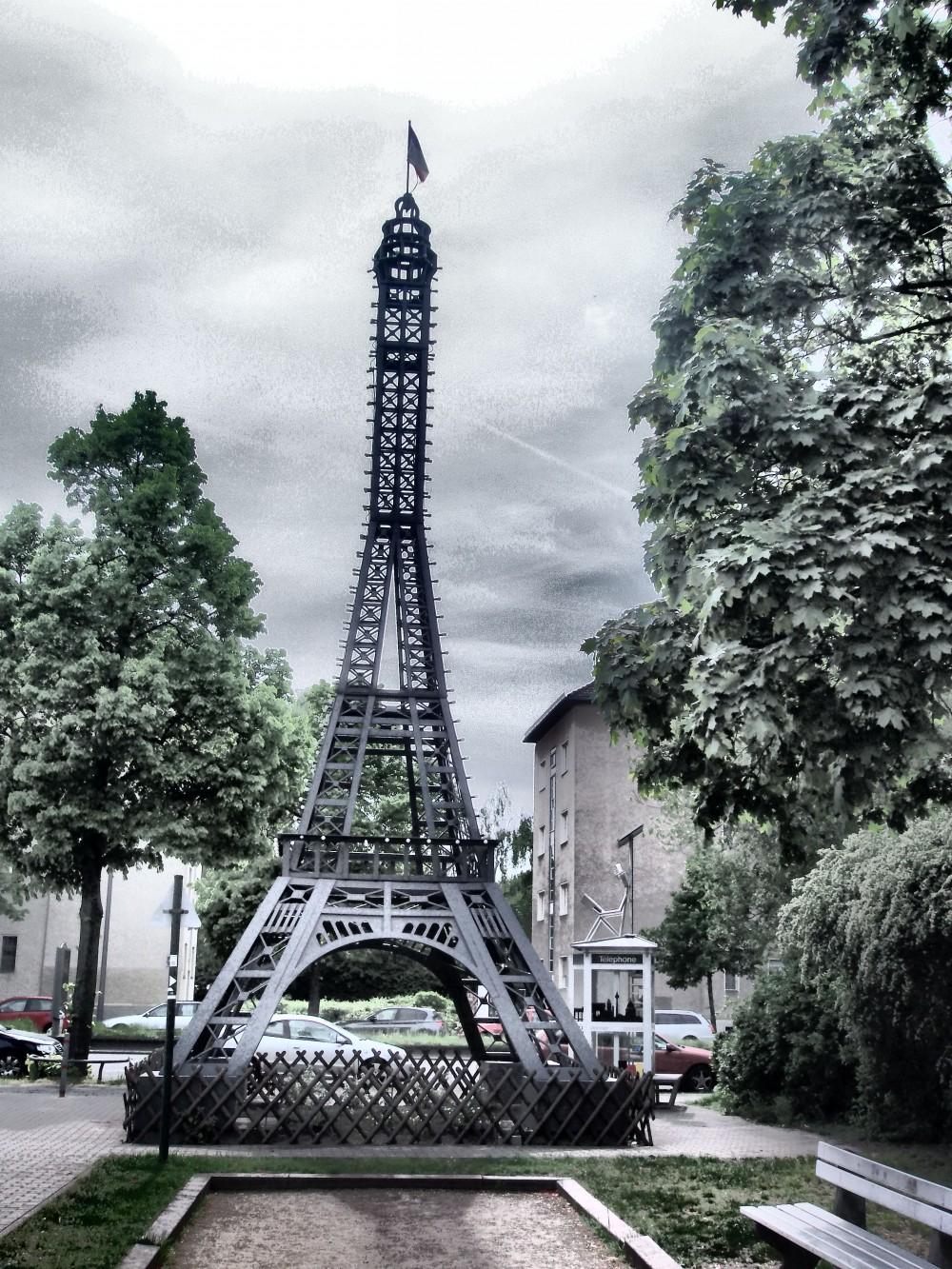 Eiffelturm Centre Francais (C) Katja Witt