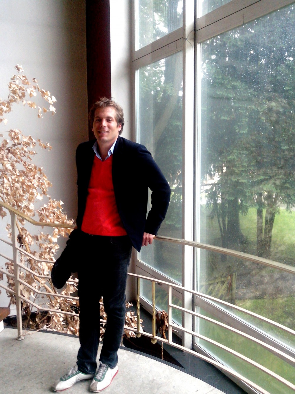Florian Fangmann im Centre Francais