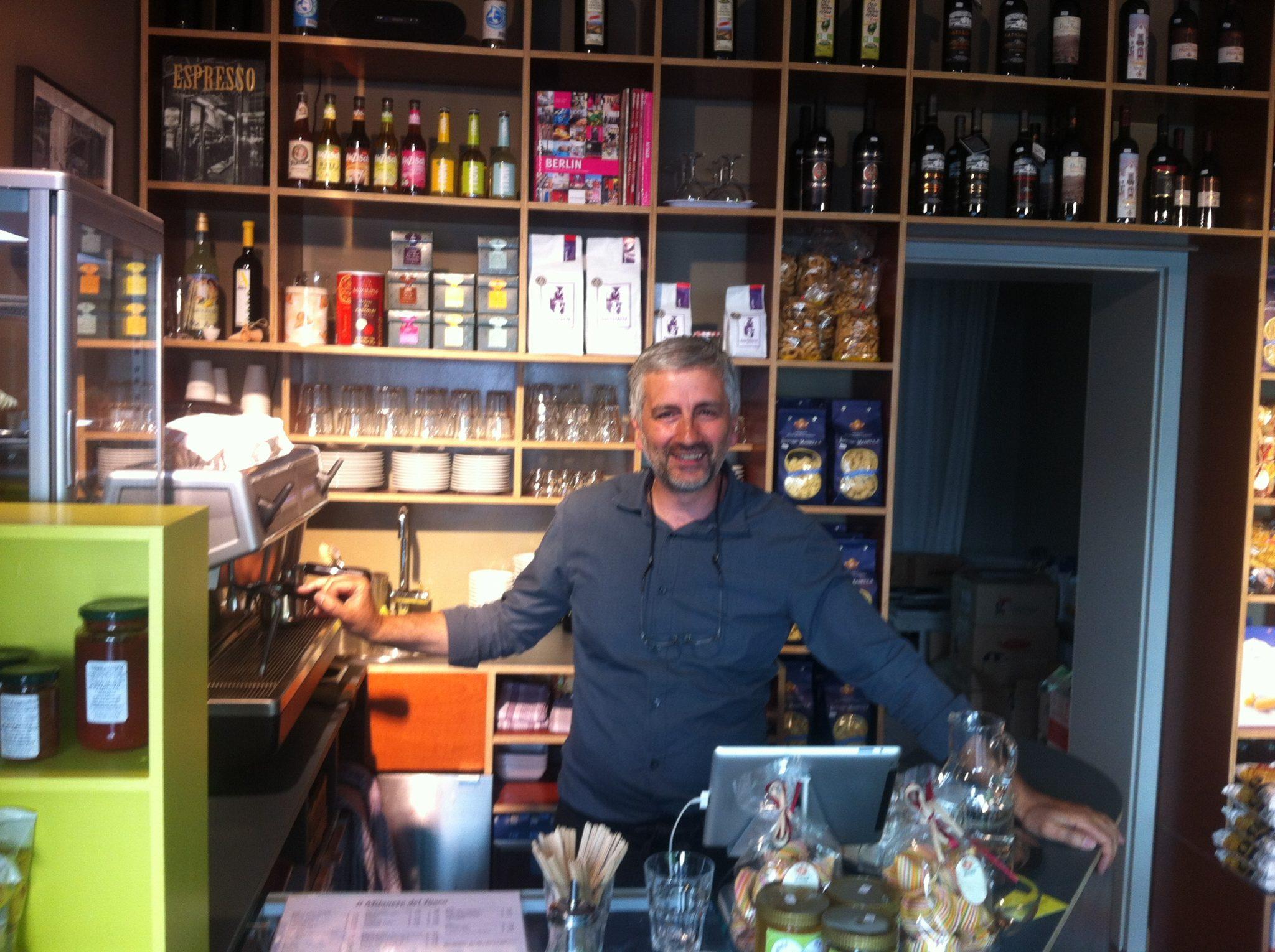 Der Ladeninhaber Filippo Tritto