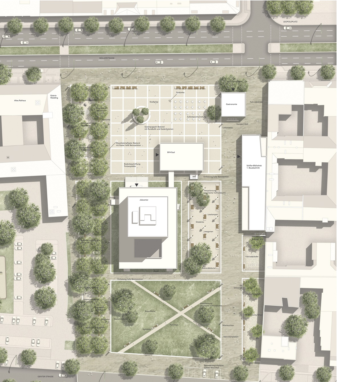 Planung Rathaus-Umfeld