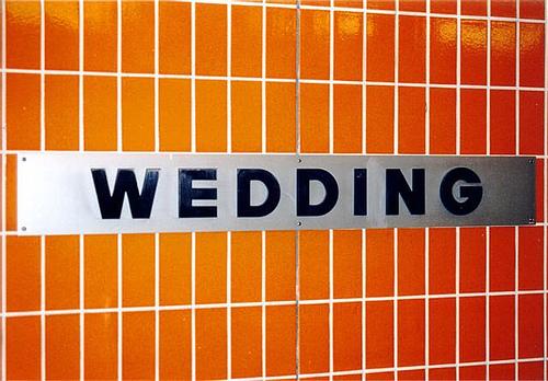 Wedding cdrewing