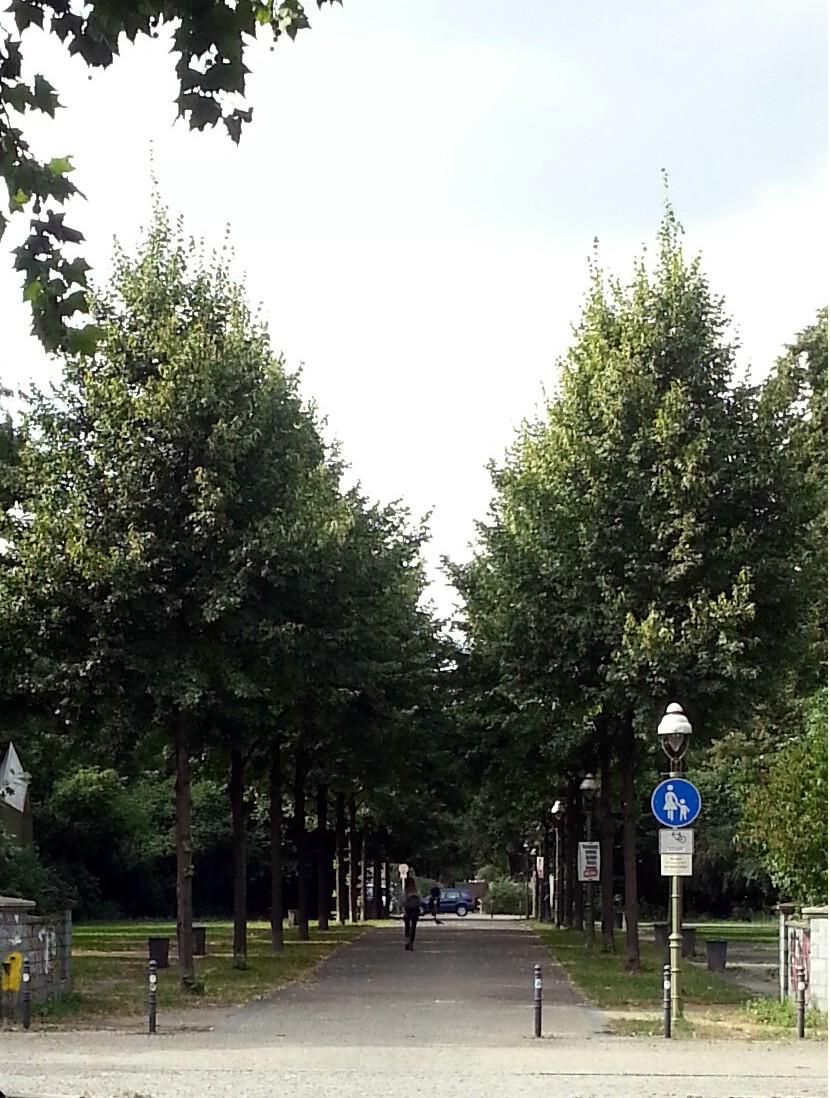 Zeppelinplatz Grünverbindung