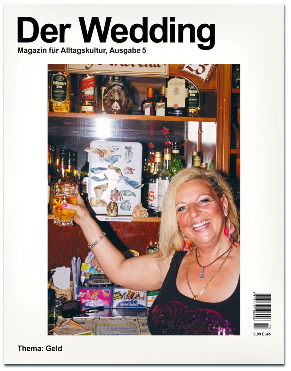 Cover Der Wedding 5 Magazin für Alltagskultur