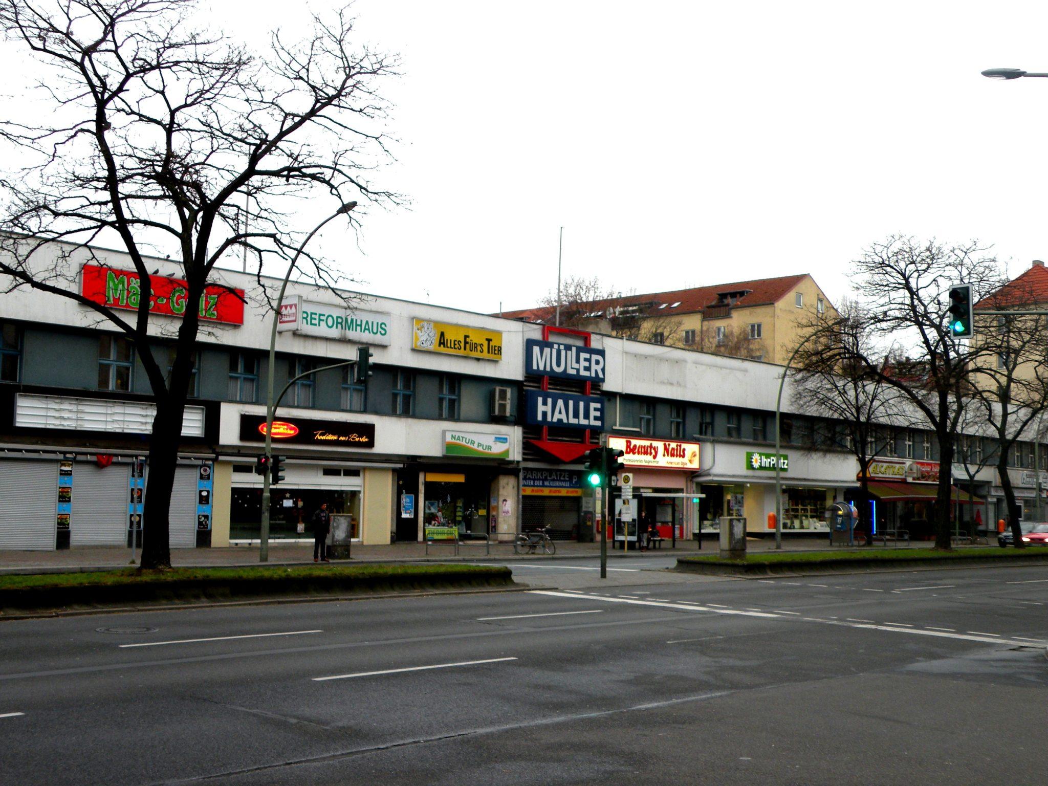 Tristesse in grau: die Müllerhalle