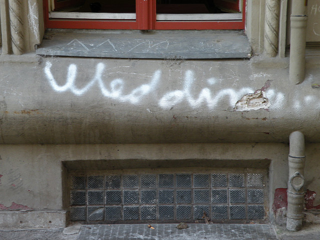 Wedding Graffiti