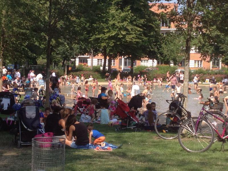 Schillerpark Kinderplansche