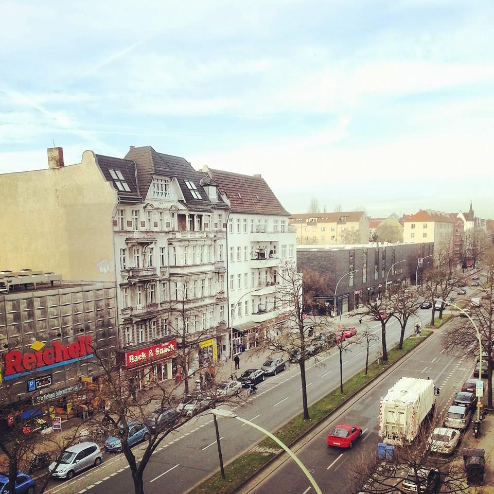 Müllerstraße Blick von oben