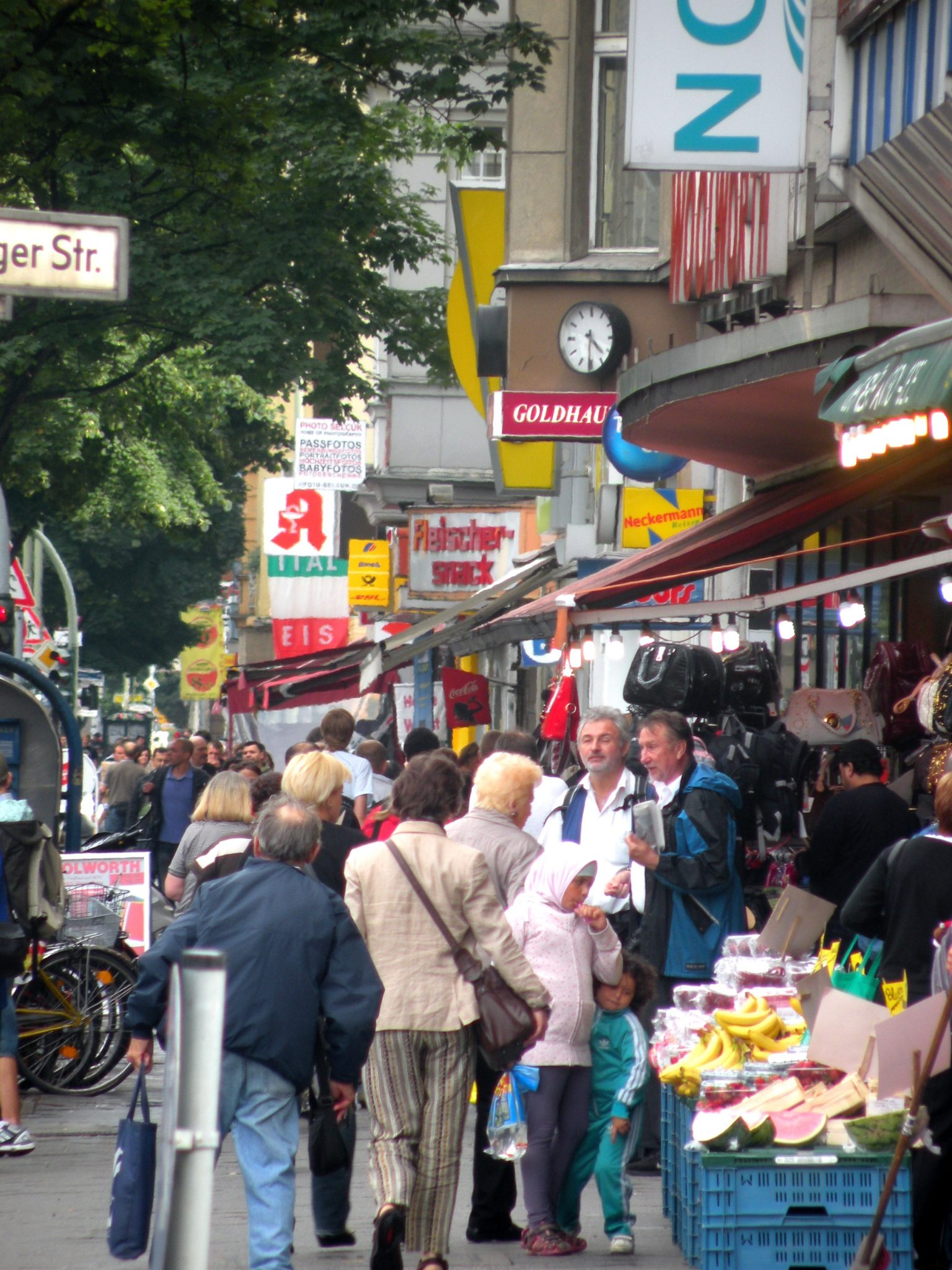 Müllerstraße Ecke Luxemburger Straße