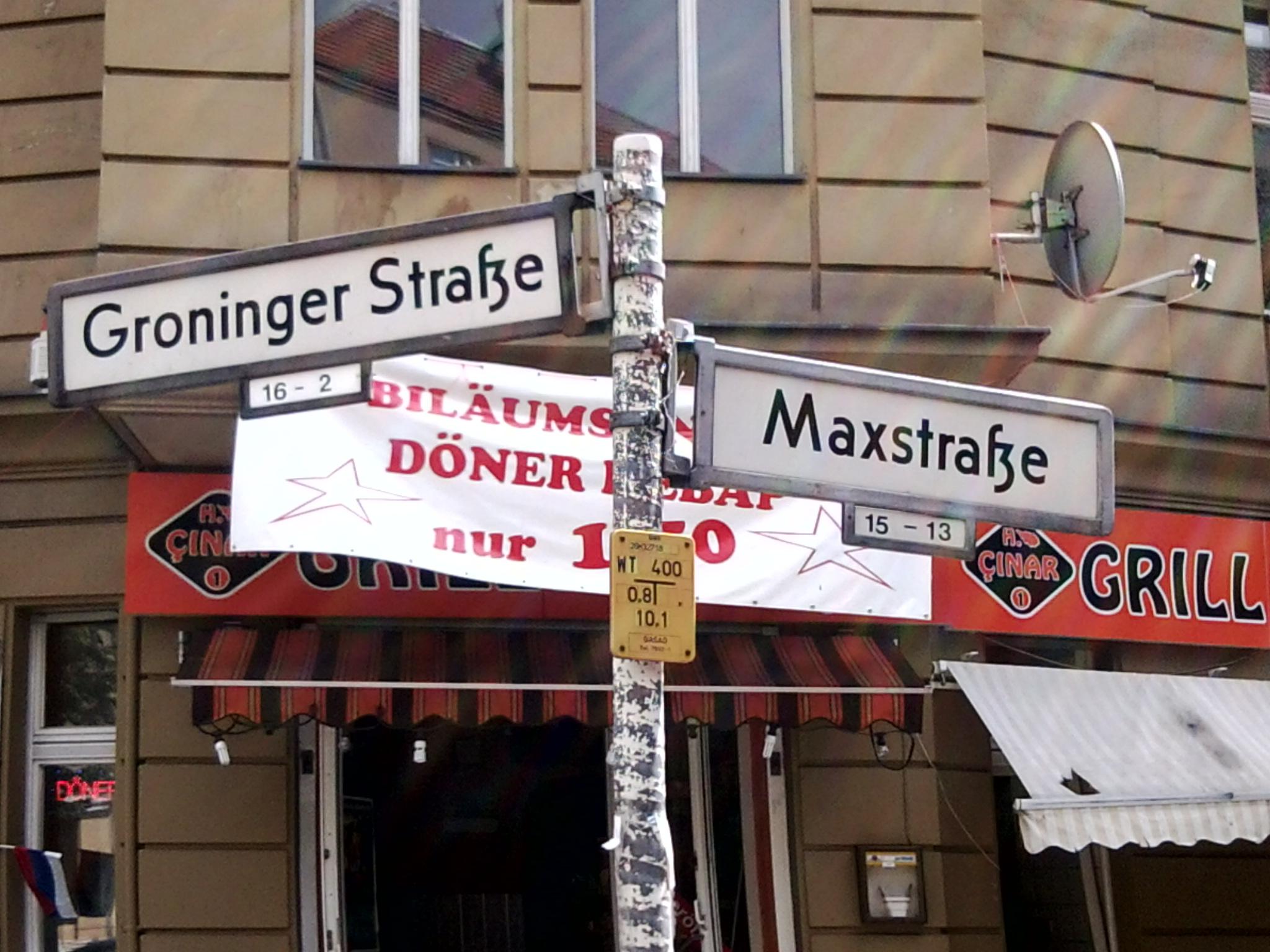 Groninger Maxstraße