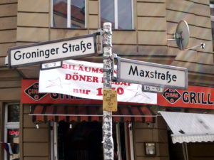 Groninger Maxstraße Straßennamen