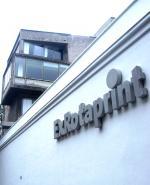 Schriftzug Ex Rotaprint und Eckgebäude Bornemannstr.