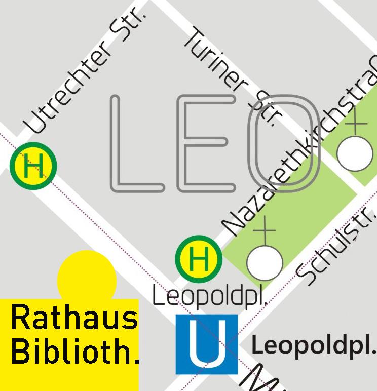 Karte Rathaus Bibliothek