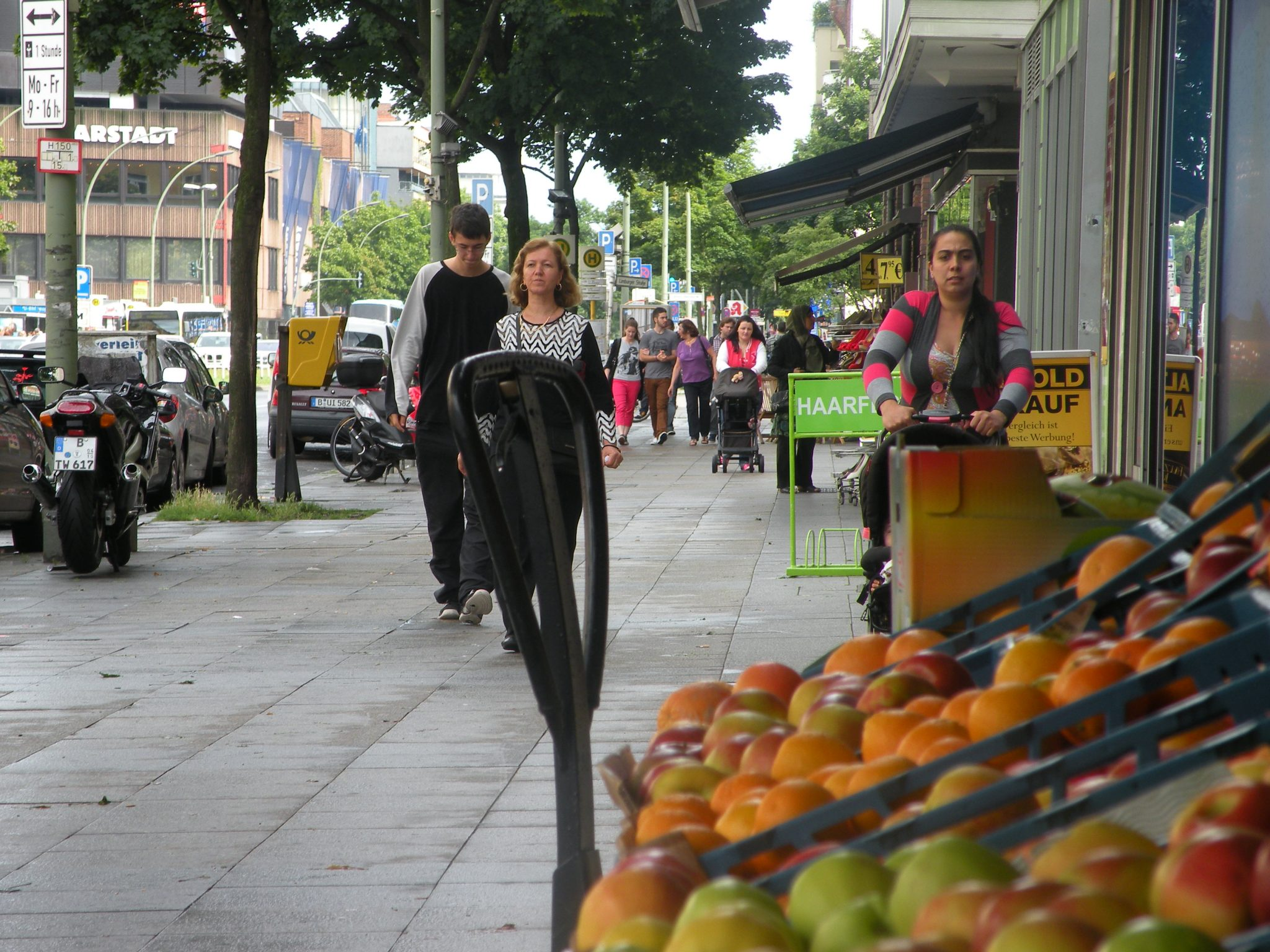 Ein Gemüseladen an der Müllerstraße