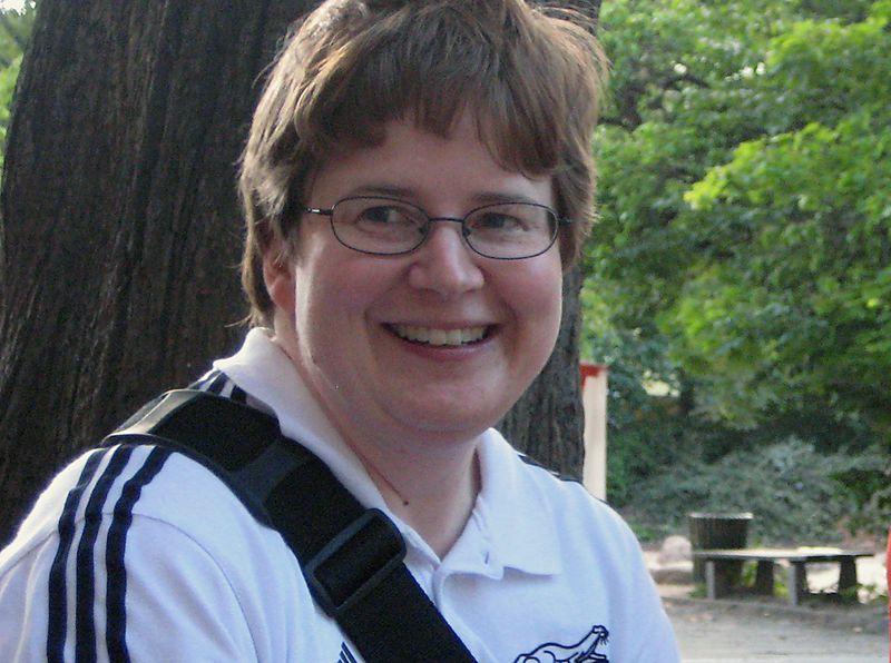 KiezSportLotsin Susanne Bürger beim Familiensportfest im vergangenen Jahr.