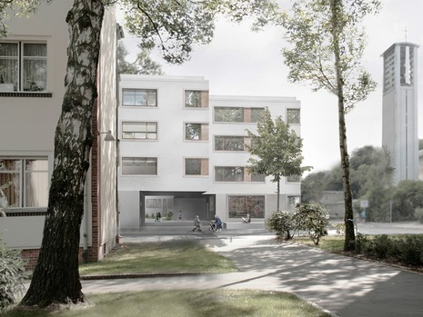 Wohnungsbau am Schillerpark
