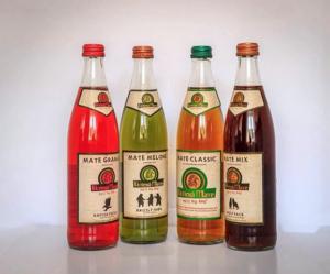 4 Mate-Flaschen