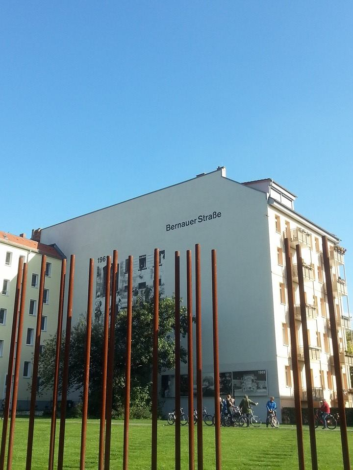 Bernauer Str Mauer