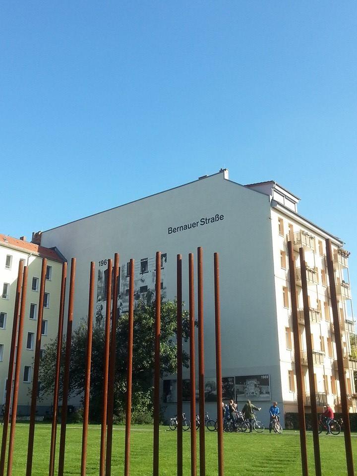 Mauerstreifen in der früheren Rosenthaler Vorstadt