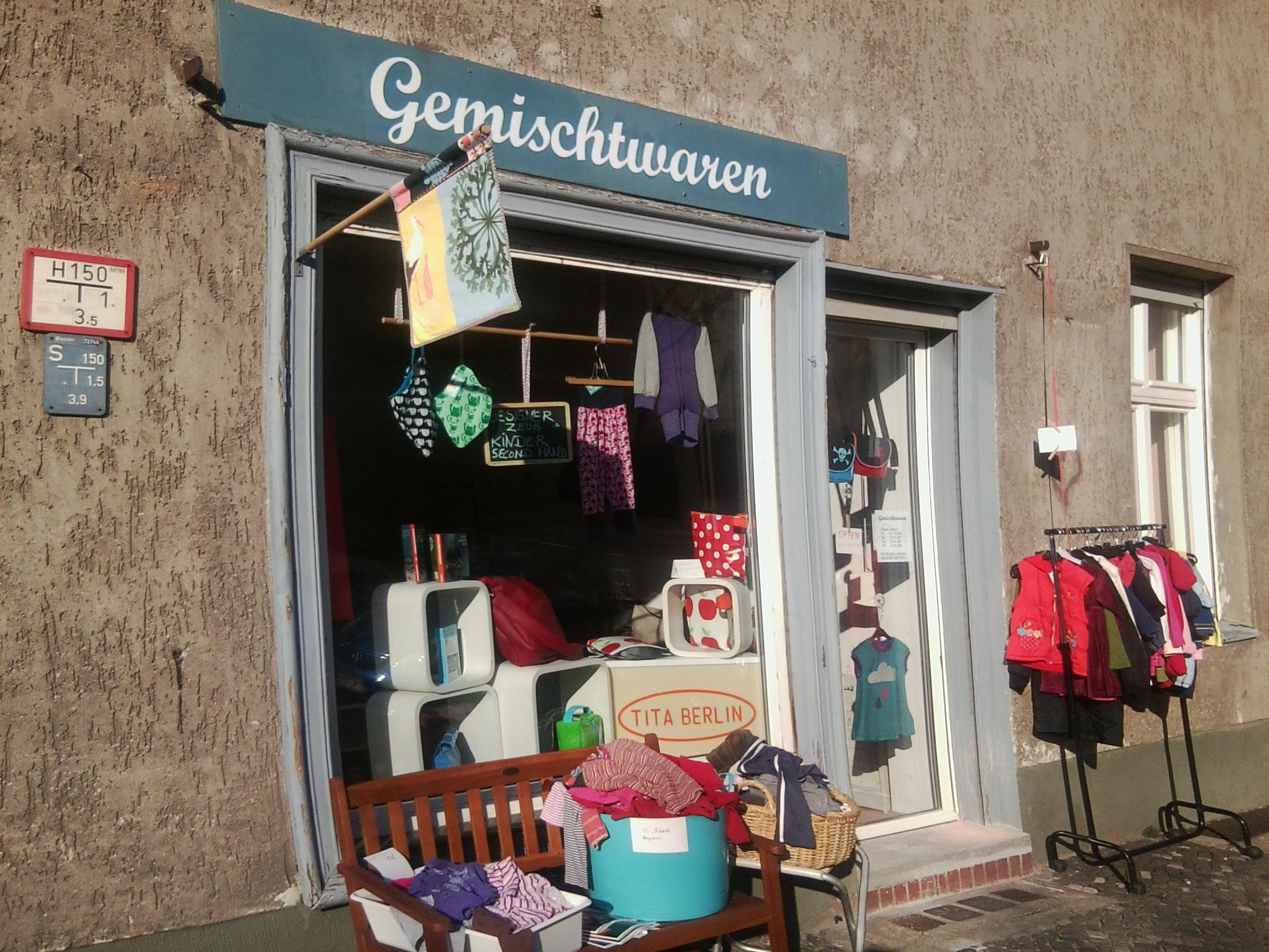 """Das """"Gemischtwaren"""" in der Eulerstraße"""
