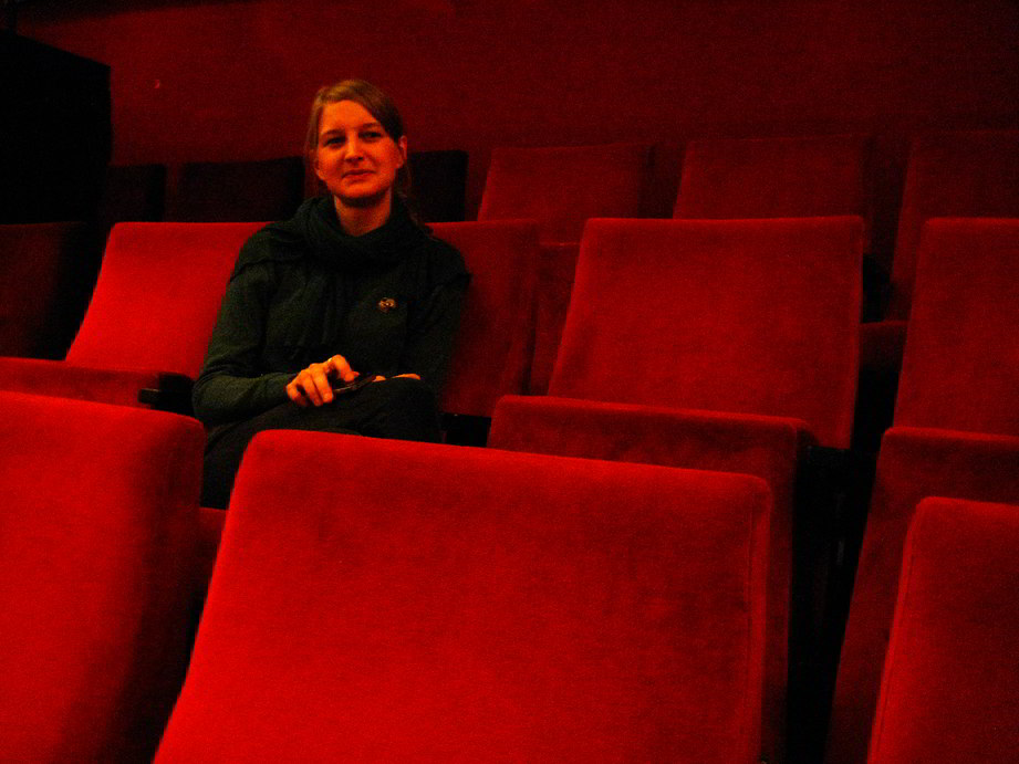 Anne Laakeberg im City Kino im Centre Francais