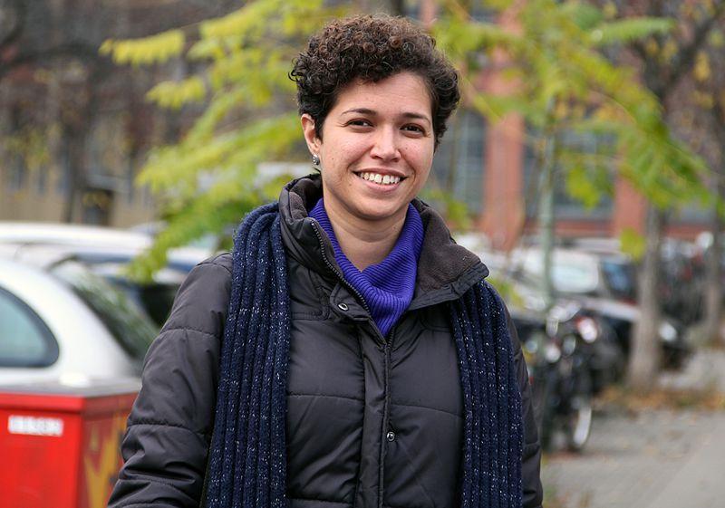 Evelyne Leandro im Dezember 2014. Nach zwei langen Jahren ist sie geheilt.