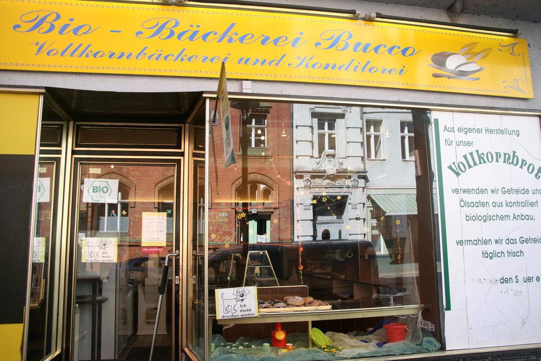 Bio-Bäckerei Bucco  außen