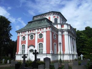 Schlosskirche Buch im Barockstil