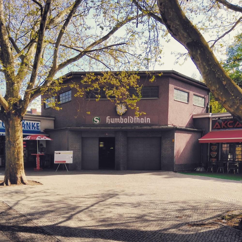 S Bahnhof Humboldthain Gebäude